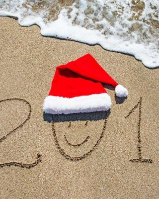 Happy New Year on Sand per Nokia N8
