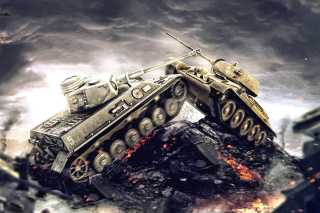 World of Tanks - WOT para Samsung 222 Ch@t