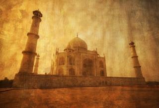 Taj Mahal Photo para Widescreen Desktop PC 1920x1080 Full HD