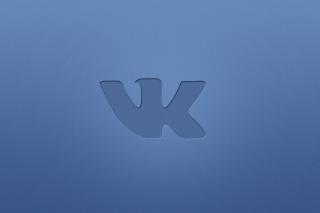 Blue Vkontakte Logo