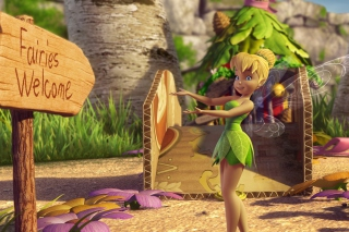 Tinker Bell And The Great Fairy Rescue 2 para Samsung S5367 Galaxy Y TV