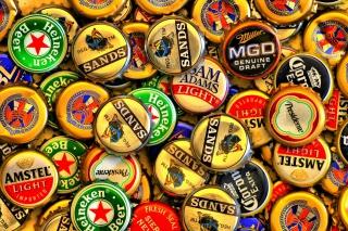 Beer caps - Amstel, Sands, Miller para Blackberry RIM Curve 9360