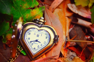 Vintage Heart-Shaped Watch