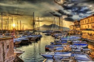 Sunrise In Naples