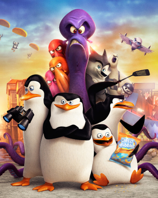 The Penguins of Madagascar 2014 para Nokia C1-01
