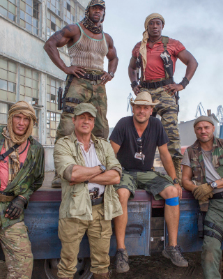 The Expendables 3 para Blackberry RIM Torch 9800