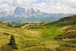 The Alps Mountainscape