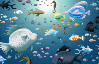 Virtual Fish Tank Aquarium