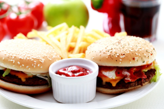 Burgers with Barbecue sauce para Sony Ericsson XPERIA X8