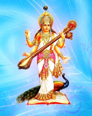 Saraswati Hindu Goddess for Nokia N8