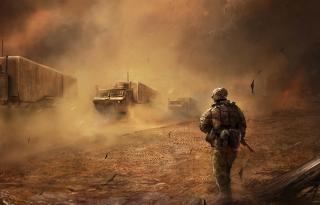 War In Desert para Nokia Asha 201
