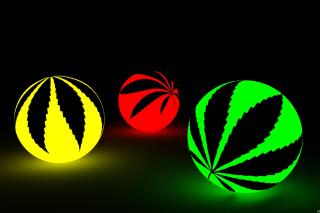 Neon Weed Balls para Blackberry RIM PlayBook LTE