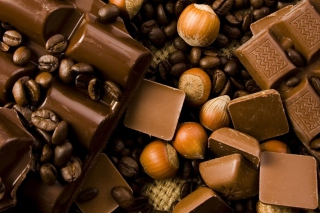Chocolate, Nuts And Coffee