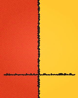 Orange Yellow Background for Nokia Asha 303