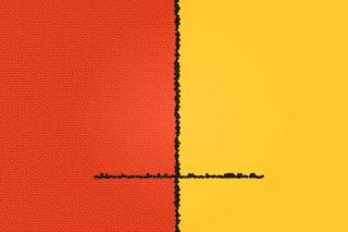 Orange Yellow Background para Nokia Asha 201