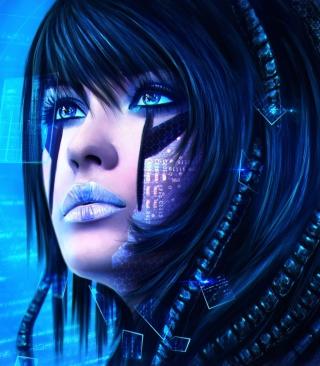 Sci-Fi Portrait for 480x854
