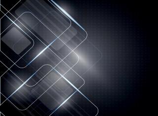 Bright Abstract para LG E400 Optimus L3