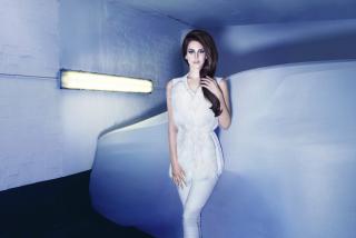 Lana Del Rey In White