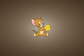 Tom And Jerry Mouse With Cheese para Motorola RAZR XT910