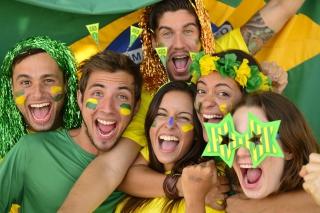 Brazil FIFA Football Fans