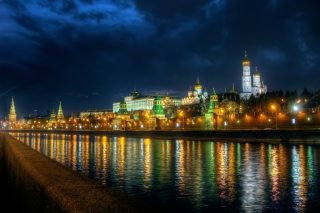 Moscow Kremlin and Embankment para Blackberry RIM Curve 9360