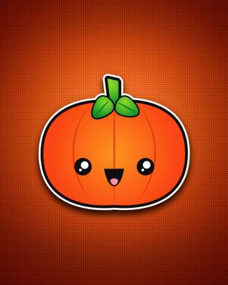 Cute Orange Pumpkin para LG BL40 New Chocolate