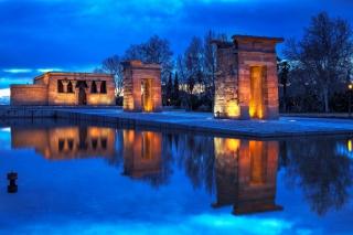 Debod Temple - Madrid for Nokia Asha 200