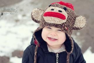 Cute Smiley Baby Boy