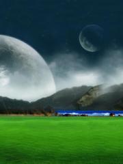 Moon Landscape para Huawei G7010