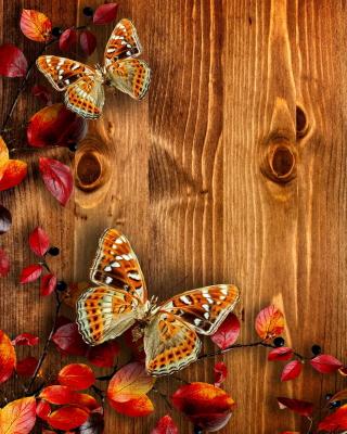 Autumn Background for Nokia Asha 303