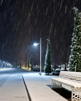 Snowstorm and light lanterns para Nokia 5230