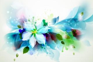 Drawn flower petals para Motorola RAZR XT910