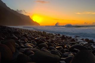 Kalalau Beach in Hawaii
