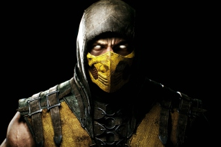 Scorpion In Mortal Kombat X para Nokia Asha 201