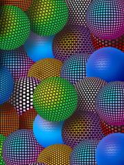 3D Neon Balls para Huawei G7010