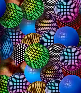 3D Neon Balls para Huawei G7300