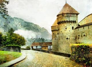 Chillon Castle in Montreux para Nokia X2-01