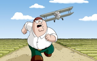 Family Guy - Peter Griffin para Sony Ericsson XPERIA Neo V