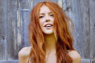Gorgeous Redhead Girl Smiling