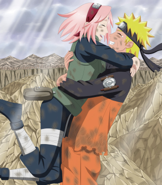 Uzumaki Naruto And Sakura for LG GD510 Pop