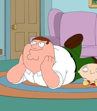 Family Guy - Stewie Griffin With Peter para Nokia C1-01
