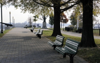 Federal Hill Park In Baltimore