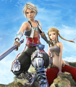 Vaan and Penelo - Final Fantasy XII para Huawei G7300