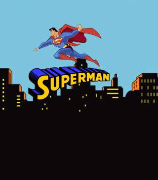 Superman Cartoon for Nokia N8