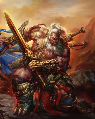 Barbarian - Diablo III per Nokia Asha 306
