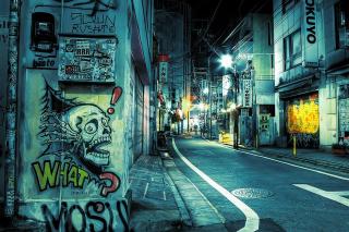Street Graffiti para Widescreen Desktop PC 1920x1080 Full HD