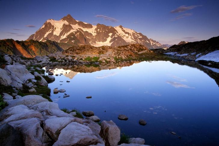 Mount Shuksan at Sunset - Washington screenshot #1