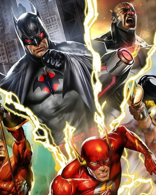 Justice League: The Flashpoint Paradox for Nokia N8