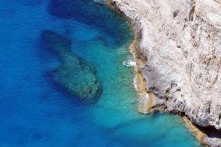 Crystal Clear Blue Sea
