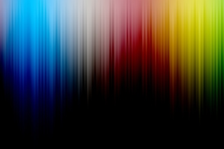 Colorful Spectrum Lines